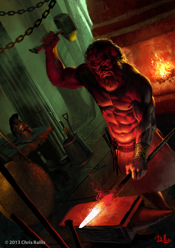 Hephaestus | Mythology Wiki | FANDOM powered by Wikia  Hephaestus | My...