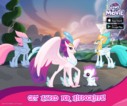Hippogriffs promotion MLP mobile game