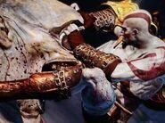 Kratos vs a Cyclops