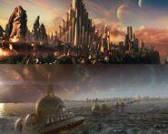 Asgard in Thor