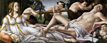 Venus and Mars Botticelli1483