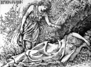 Freyja awakes Hyndla