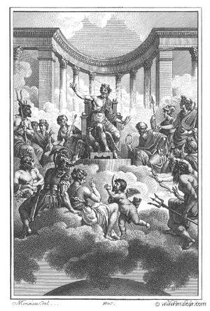 The Gods Assembled by Villenave