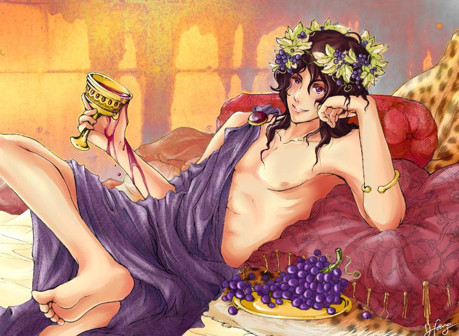 Dionysus god of sexuality