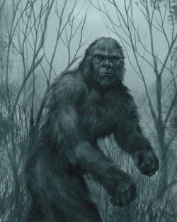Bigfoot by chrisscalf