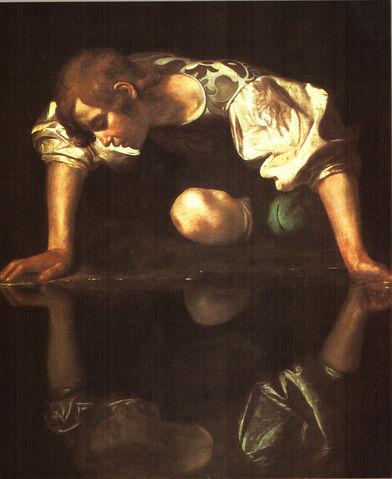 File:Michelangelo caravaggio 78 narcissus.jpg