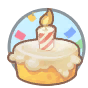 Player birthday icon