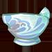 Porcelain Waterholder Piece 2