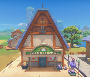 Harbor Trade Station Shop