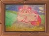 Art Pinky Cat
