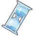Crystal Hourglass