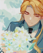 Portrait Gust Flowers