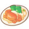 Bamboo Papaya and Seafood with Rice