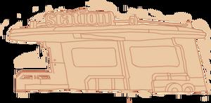 Diagram Bus Station