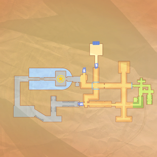 Map of the ruins within WOW Industries
