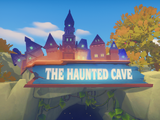 Haunted Cave Sign