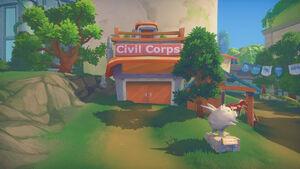 Civil Corps exterior