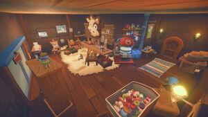 Sophie's Ranch interior