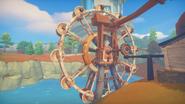 Water Wheel Abandoned Shack