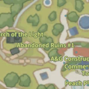 Abandoned Ruins 1 Map