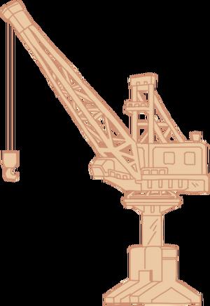 Diagram Harbor Crane