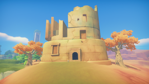Desert Abandoned Ruins