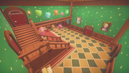 Ginger's room staircase