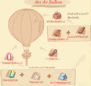 Hot Air Balloon Blueprint