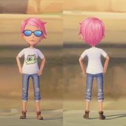 Kickstarter Shirt on female