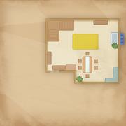 Map Mars Carol Floor 1