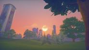 Bassanio Heights sunset
