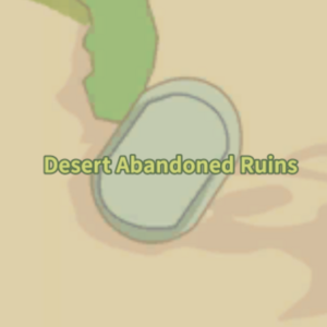 Desert Abandoned Ruins Map