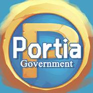 Portia Government Logo