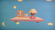 Ginger's room shelf picture