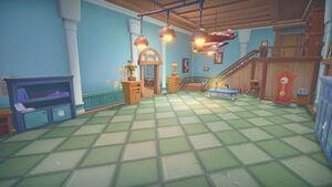 Portia School interior foyer