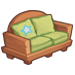 Hardwood Couch