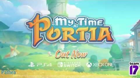 My Time at Portia Console Launch Trailer!