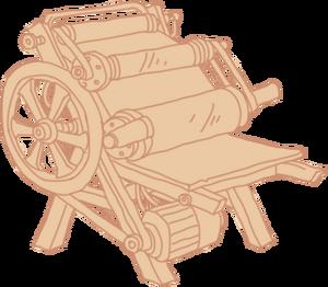Diagram Printing Press