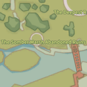 Somber Marsh Abandoned Ruins Map