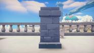 Stone Pillar Side A&G Construction Store