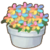 Rainbow Flower Pot