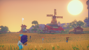 Sunset in the Fields2