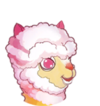 Ride Colorful Llama