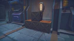 Breakable crates