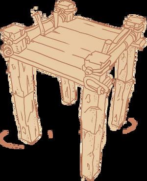 Diagram Wooden Bridge Body