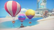 Balloons and Platform