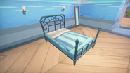 Iron Framed Double Bed Side