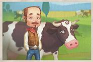 Portrait Mars Cow