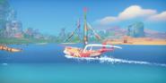 Cutscene On a Boat to Portia