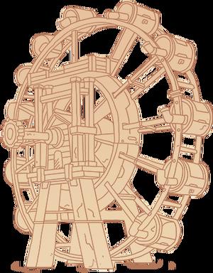 Diagram Water Wheel
